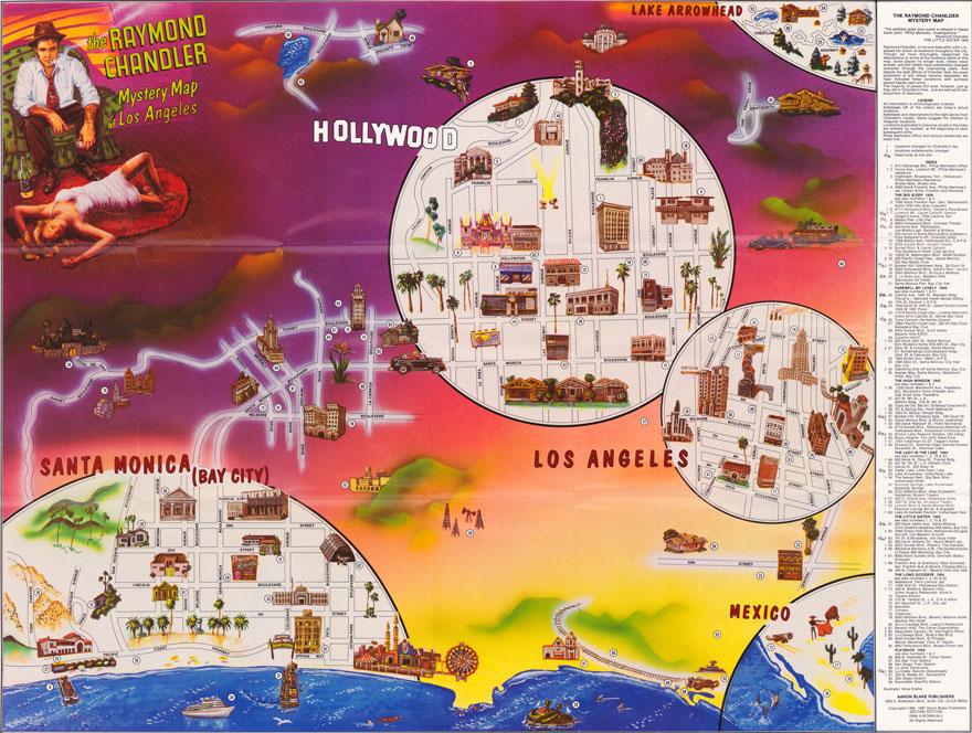 Mystery Map Of Los Angeles